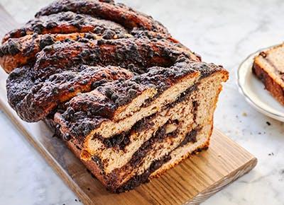 chocolate banana bread babka recipe 290