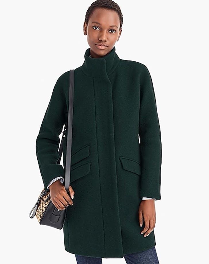cocoon coat from jcrew