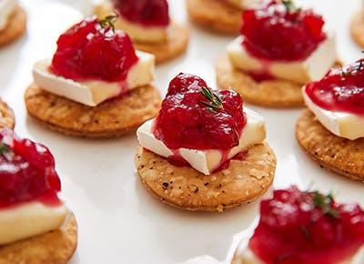cranberry brie pie crust bites recipe 290
