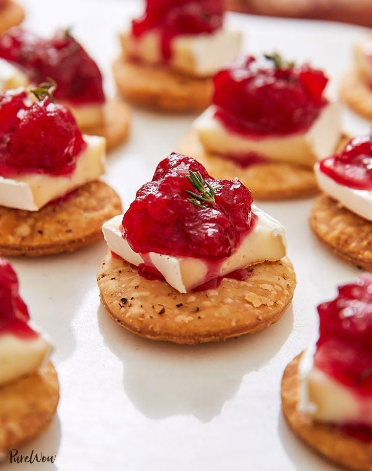 cranberry brie pie crust bites recipe 9212