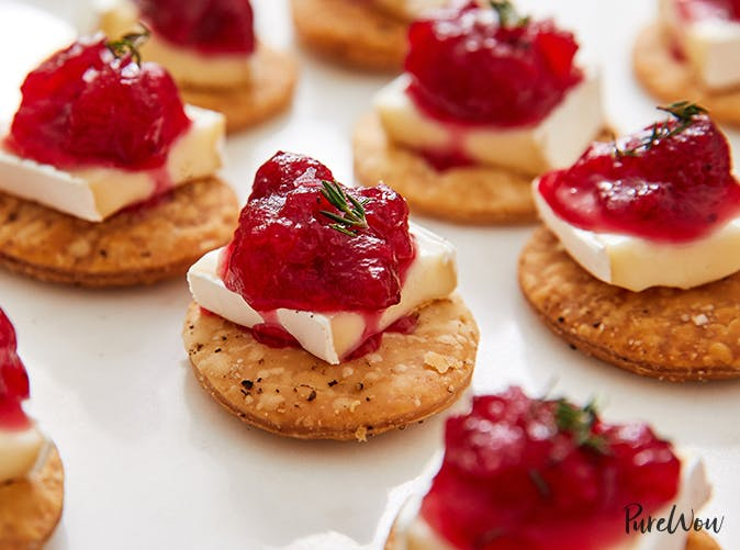 cranberry brie pie crust bites recipe