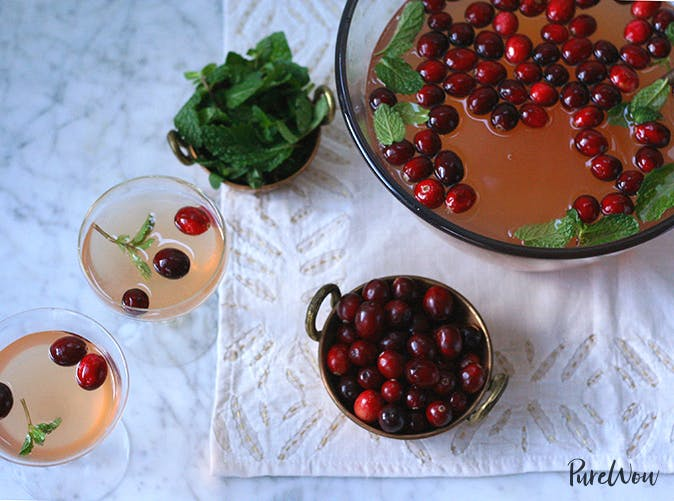 cranberry holiday punch recipe