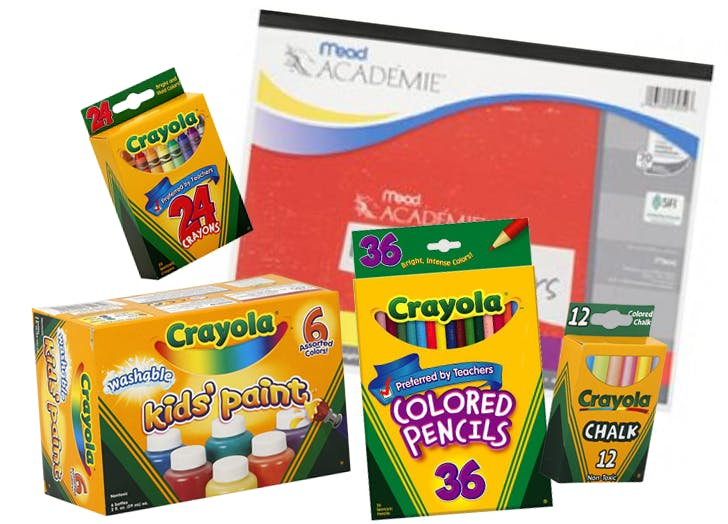 crayloa art kit from rite aid