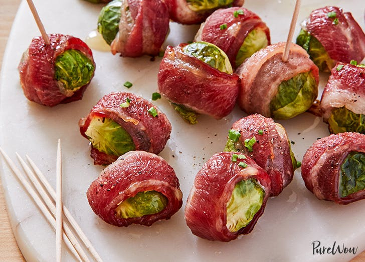 crispy bacon wrapped brussels sprouts recipe