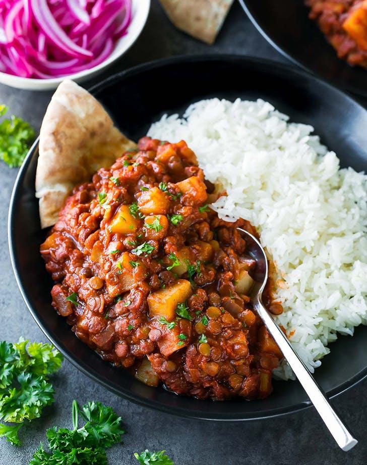 crock pot madras lentils recipe