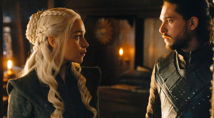 Daenerys and Jons Love Story Is *So* Much Better in the 'Game of Thrones Scripts