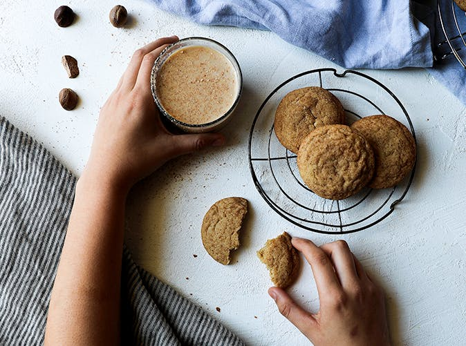 eggnog snickerdoodles recipe