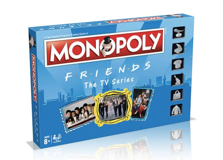 Oh. My. God. Monopoly's 'Friends' Edition Is Finally Available in the U.S.