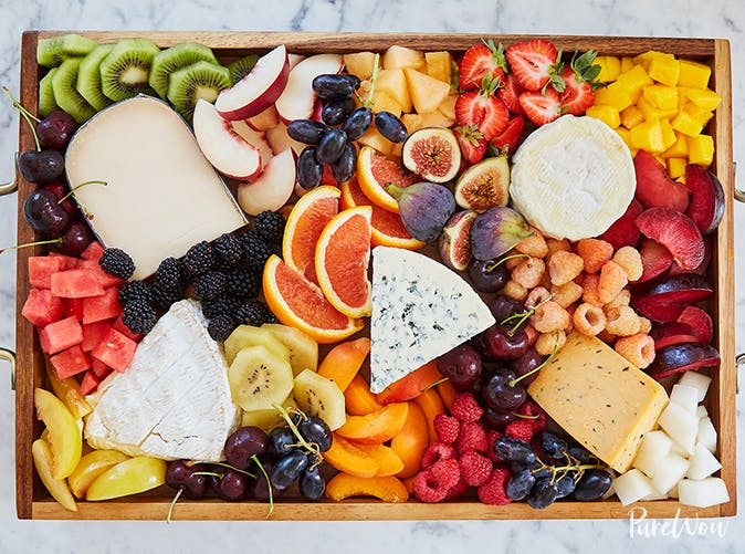 fruitcuterie board