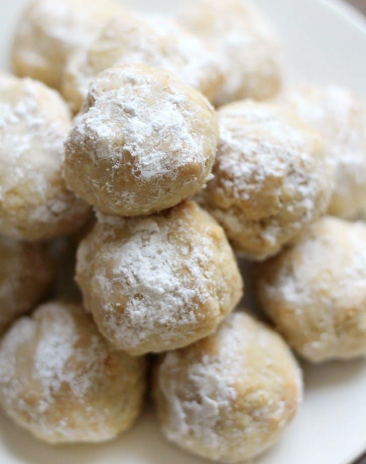 grain free italian wedding snowball cookies recipe
