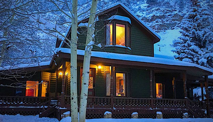homeaway vacation rentail georgtown colorado