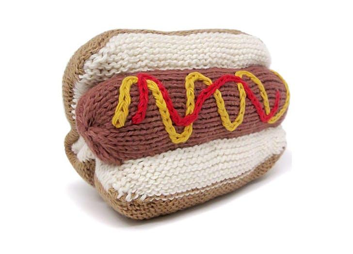hot dog rattle