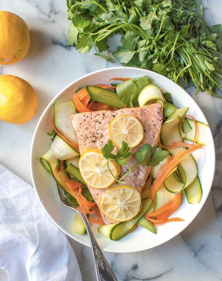insatnt pot lemon garlic salmon