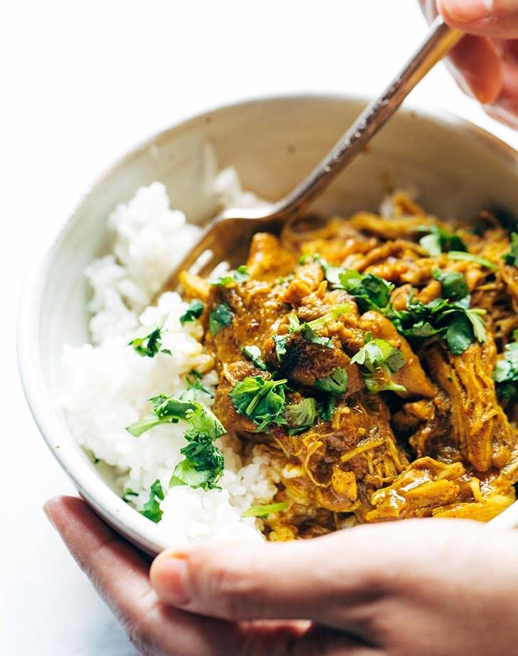 instant pot coconut tandoori chicken recipe