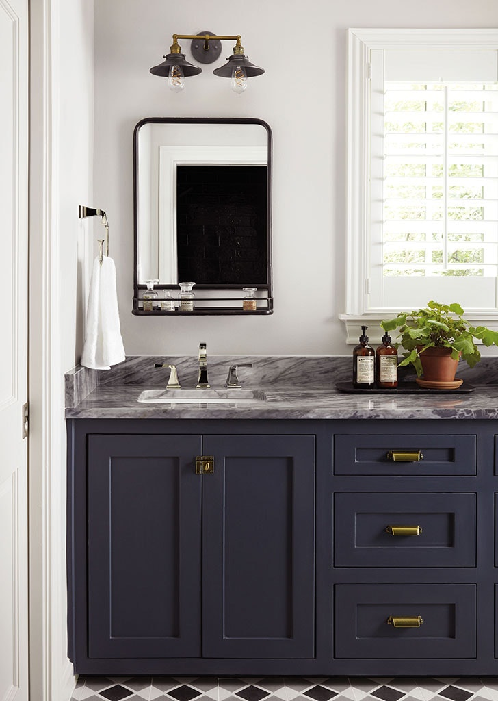Joanna Gaines Bathroom Window Treatment Tip Purewow