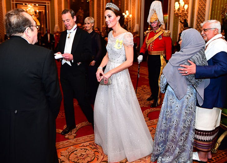 Kate Middletons Sparkly Ball Gown Reminds Us of *This* Disney Character