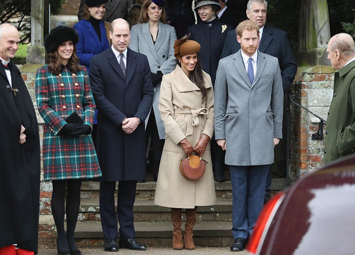kate middleton meghan markle christmas sandringham will and harry