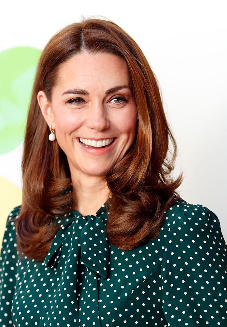 Kate Middleton's Photogenic Hair Trick at Evelina Children ...