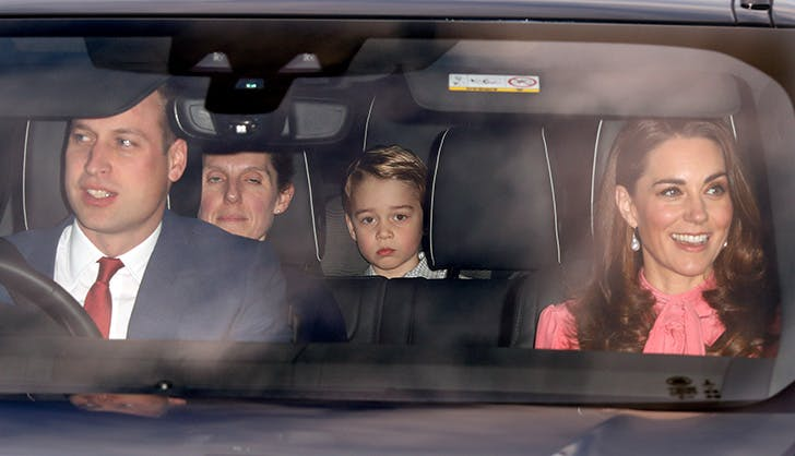 kate middleton pre christmas lunch