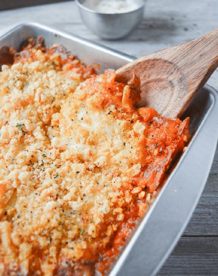 keto chicken parmesan casserole recipe2