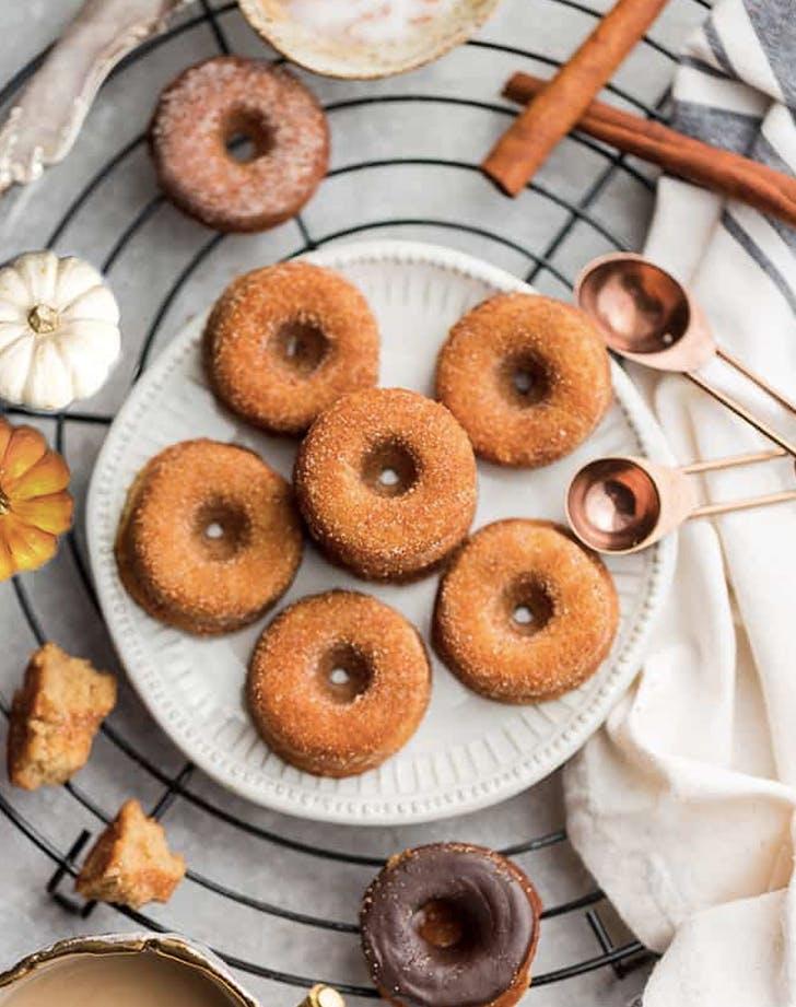 keto pumpkin doughnuts recipe