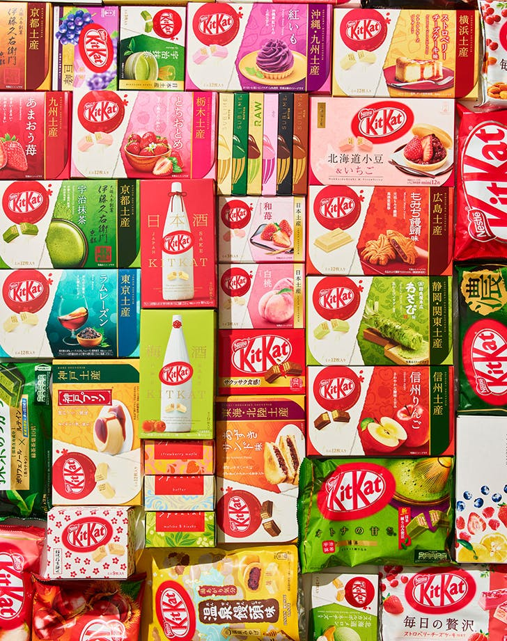 kit kat products in japan