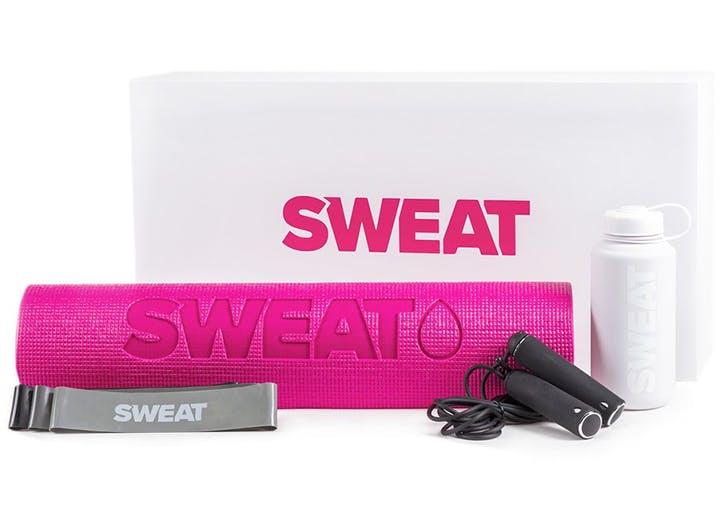 kyal itsines sweat essentials kit