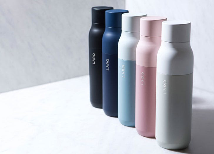 This Self-Cleaning Water Bottle Washes Itself So You Dont Have To
