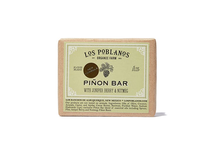 los poblanos pinon bar soap