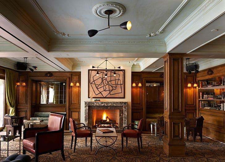 marlton hotel lobby nyc