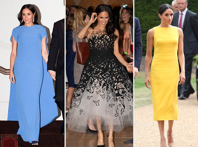 23 Photos of Meghan Markles Most-Worn Brands This Year