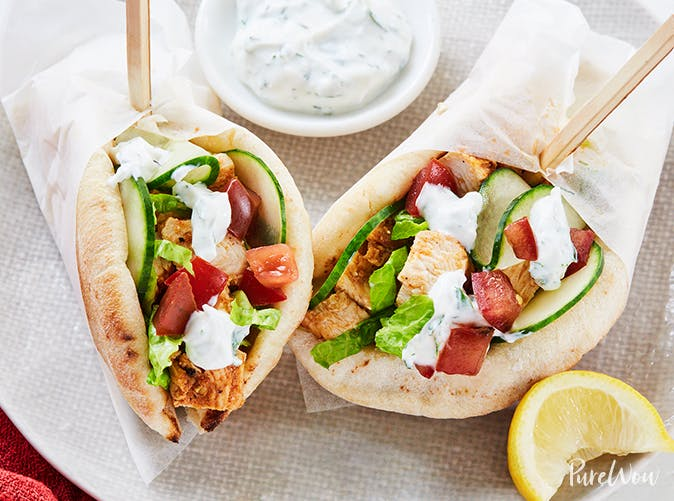 mini chicken shawarma