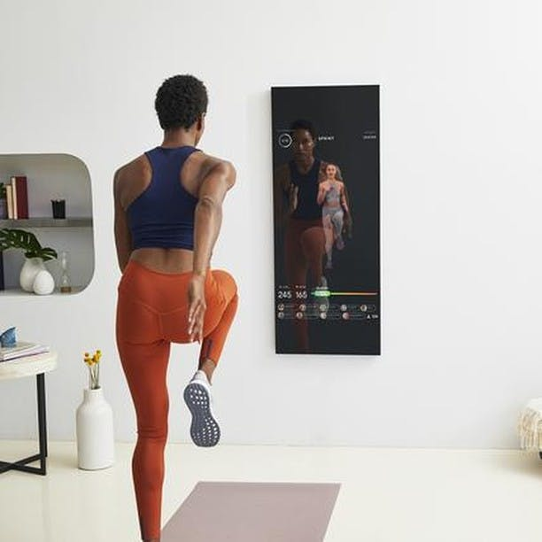 Have Space to Hang a Mirror? Then You Have Room for This New Home Gym System