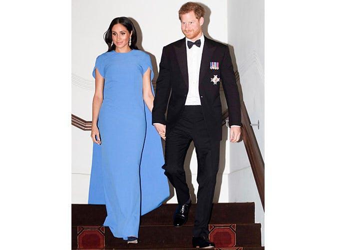 mm safiyaa blue dress
