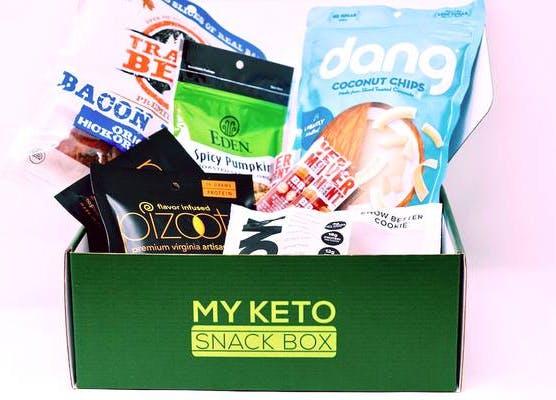 my keto snack box subscription