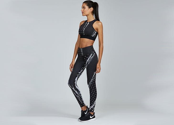 noli yoga sports bra and leggings set