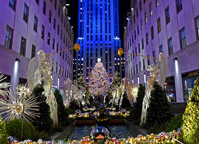 Christmas Tree In Nyc.9 Manhattan Christmas Trees Ranked From Most To Least