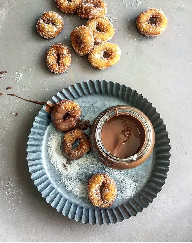 nyc doughnuts chocolate