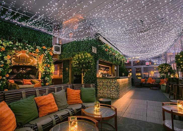 phd terrace dream midtown hotel