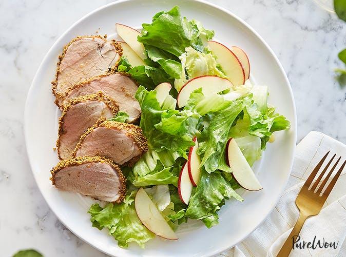 pistachio crusted pork tenderloin recipe