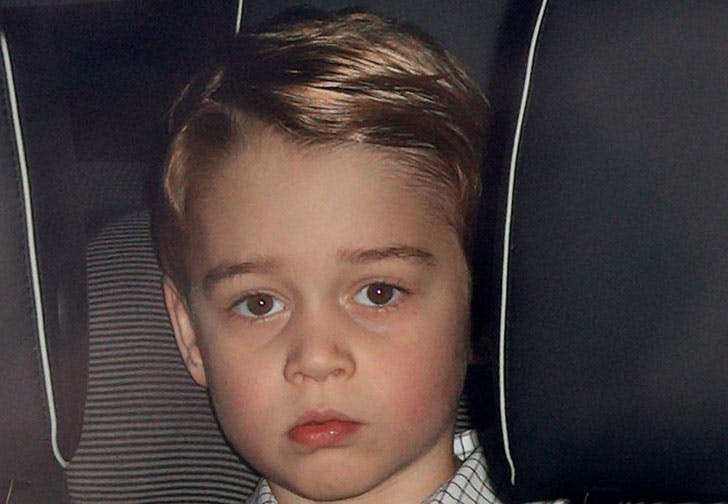 Prince George Has a New Hairstyle for the Queens Christmas Party