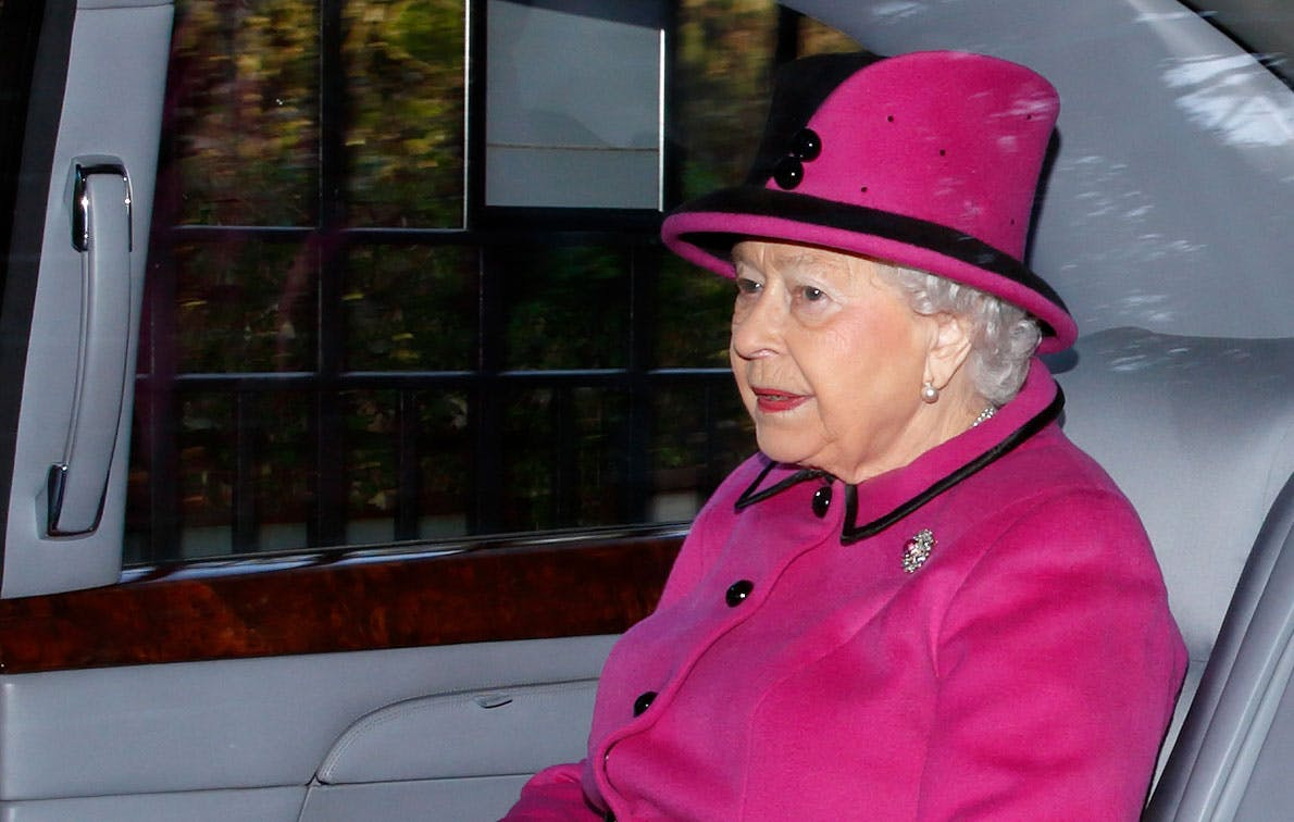 I'm Sorry...What?! Queen Elizabeth's Bentley Limo Has a Custom Hood Ornament Featuring Her Personal Mascot