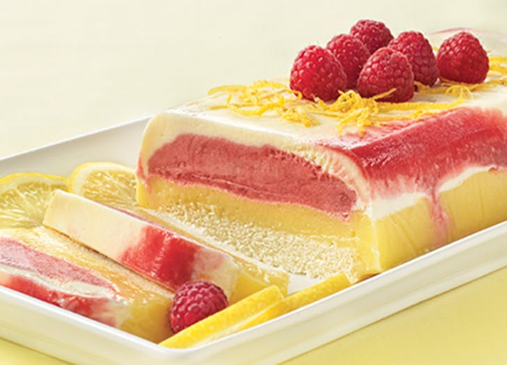 raspberry lemonade ice cream cake recipe