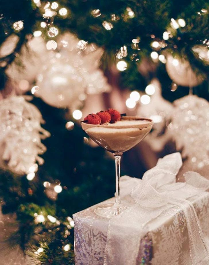 regency smoked chocolate martini