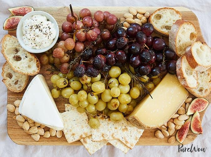 roasted grape cheese board recipe