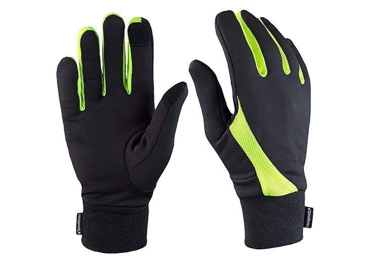 running tech gloves