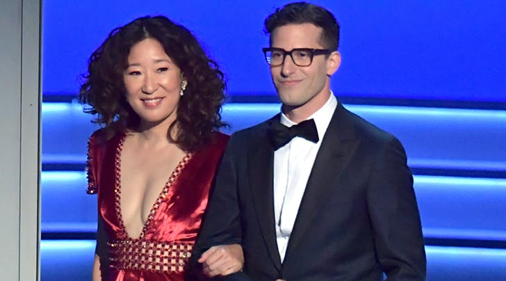 Andy Samberg & Sandra Oh Are Hosting the 2019 Golden Globes