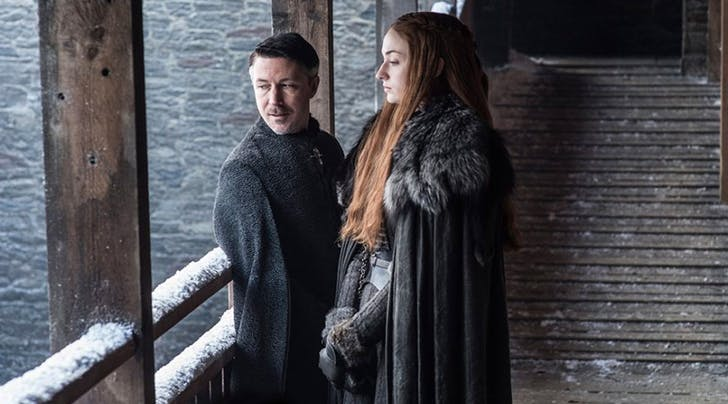 The Exact Moment Sansa Realized Littlefinger Was Playing Her
