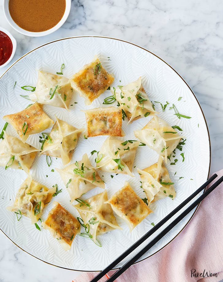 sausage and egg breakfast dumplings recipe