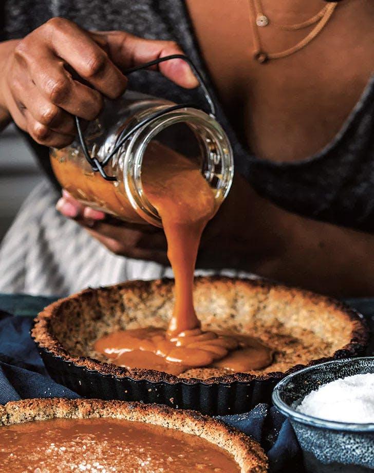 sea salt butterscotch pie